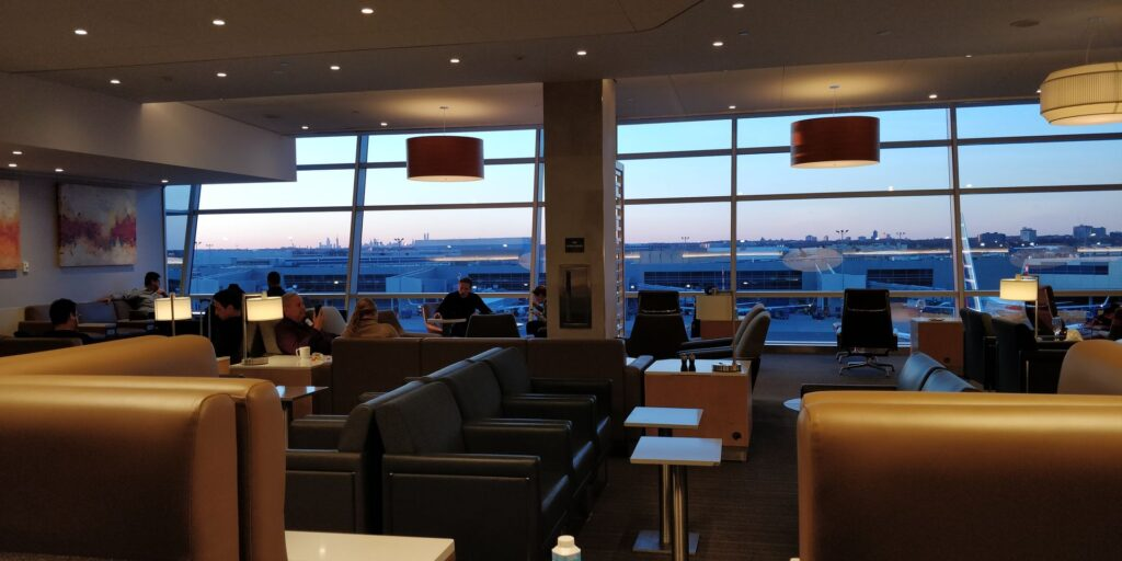 American Airlines Flagship Lounge New York JFK Layout 9
