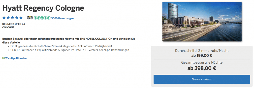 Amex Hotel Collection Screenshot 3