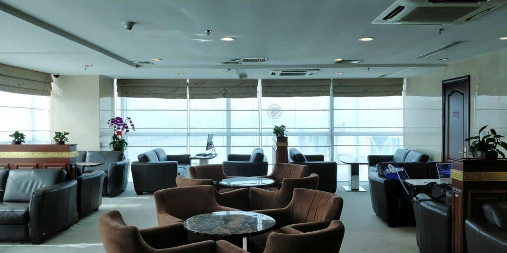 Business Class Lounge Dalian Sitzgelegenheiten 2