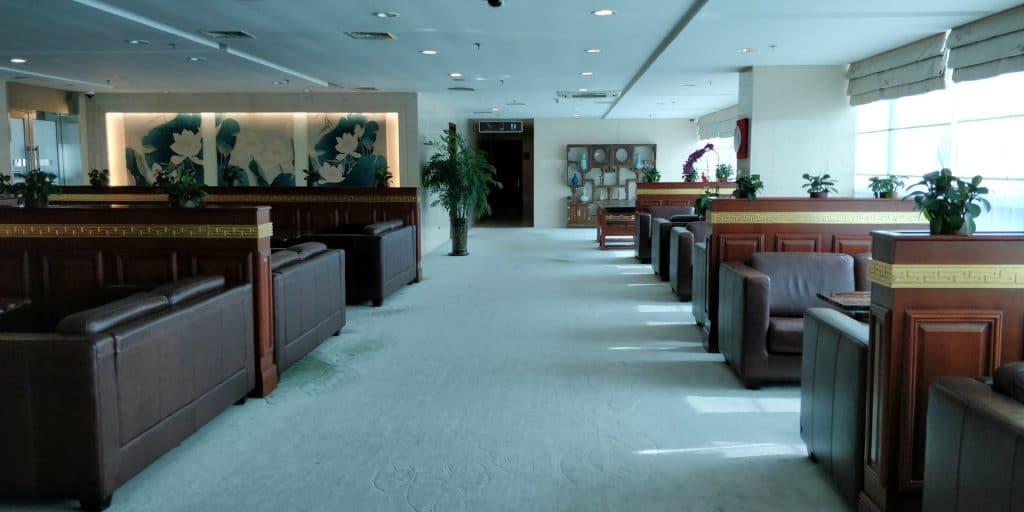 Business Class Lounge Dalian Sitzgelegenheiten 4