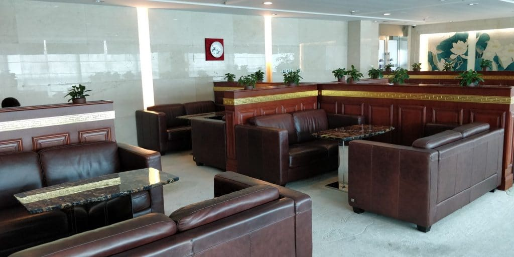 Business Class Lounge Dalian Sitzgelegenheiten 5