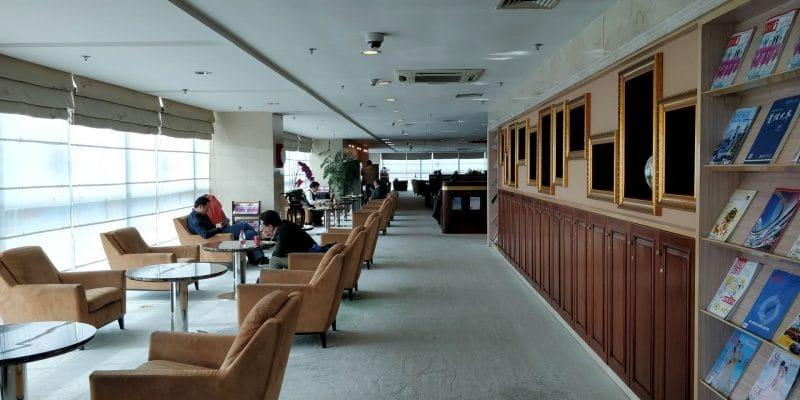 Business Class Lounge Dalian Sitzgelegenheiten 6