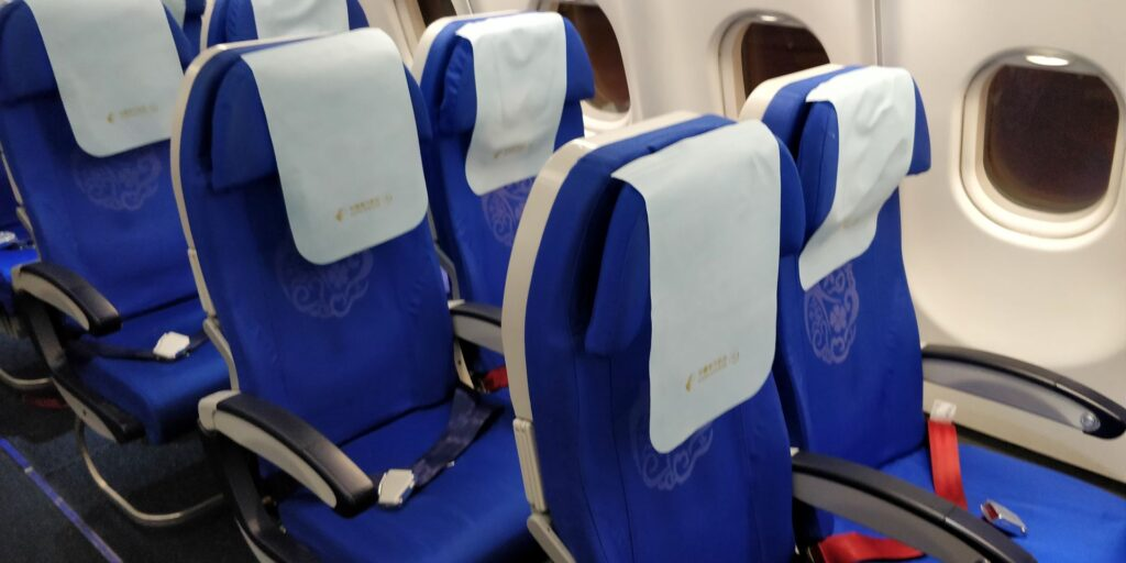 China Eastern Economy Class Langstrecke Sitz 3