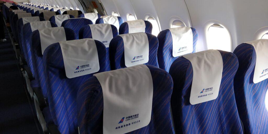 China Southern Airbus A320 Seat