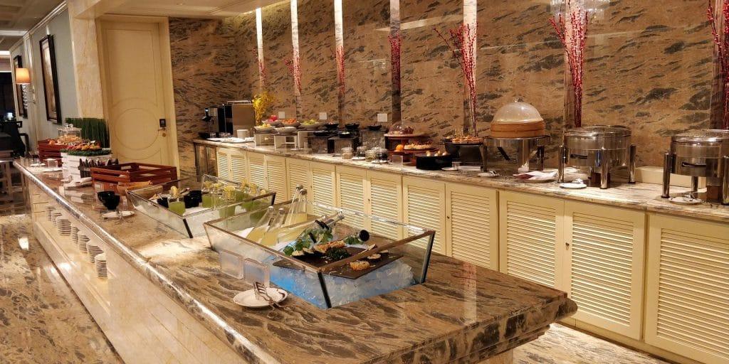 Conrad Dalian Lounge Abendessen 2