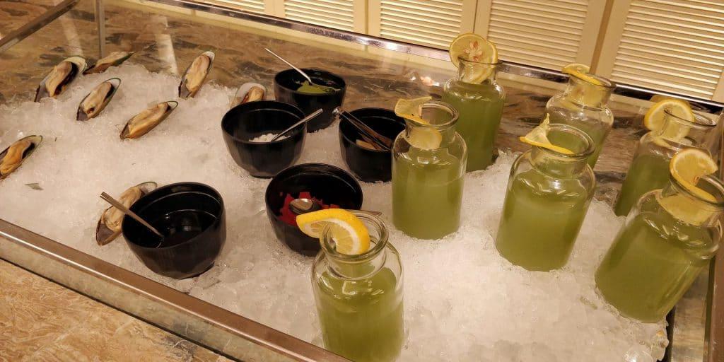 Conrad Dalian Lounge Abendessen 4