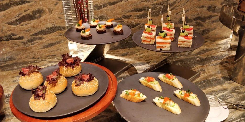 Conrad Dalian Lounge Abendessen 8
