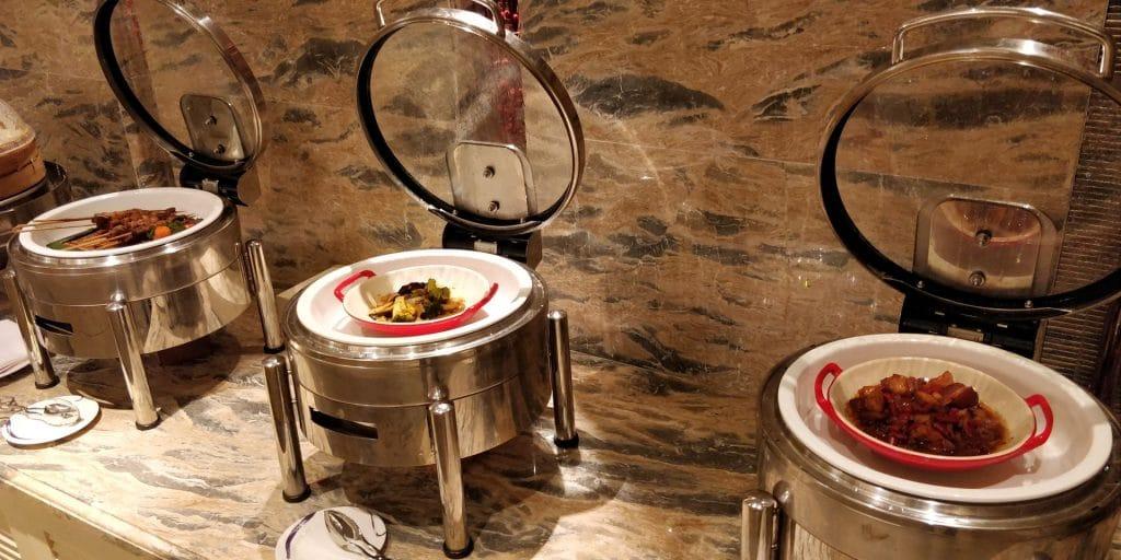 Conrad Dalian Lounge Abendessen 9