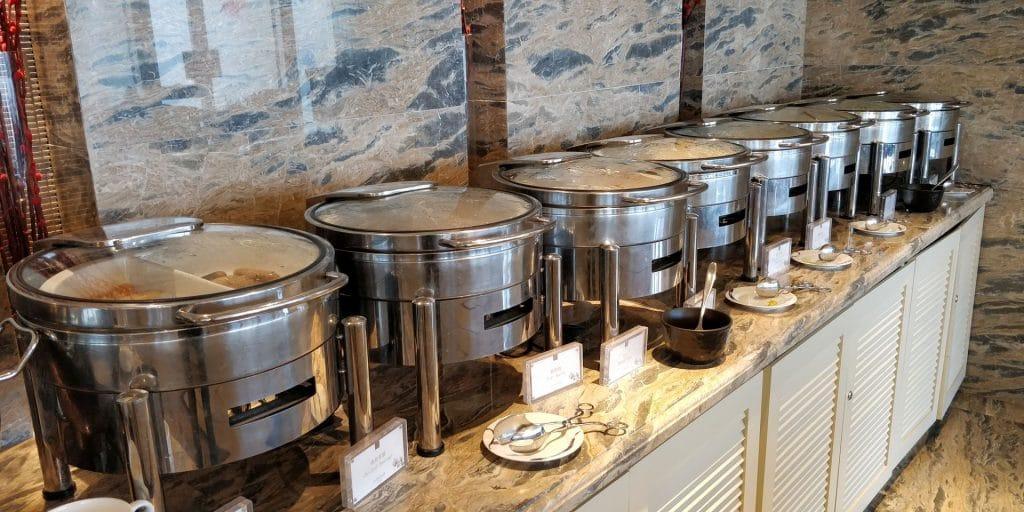 Conrad Dalian Lounge Frühstück 4
