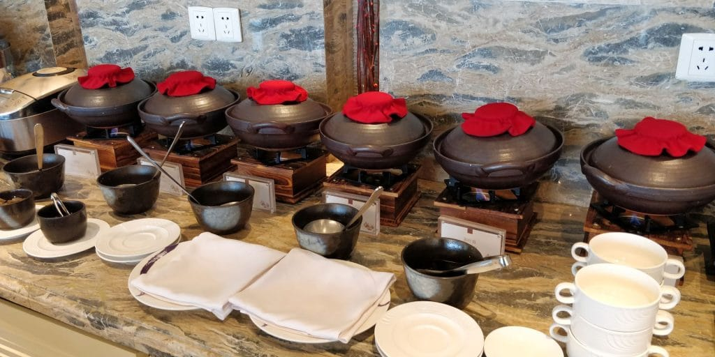 Conrad Dalian Lounge Frühstück 5