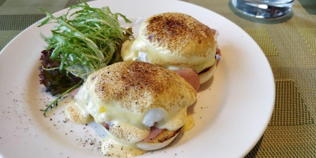 Conrad Dalian Lounge Frühstück 7