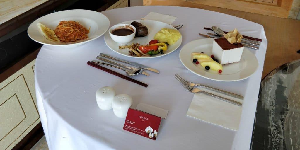 Conrad Dalian Room Service 6