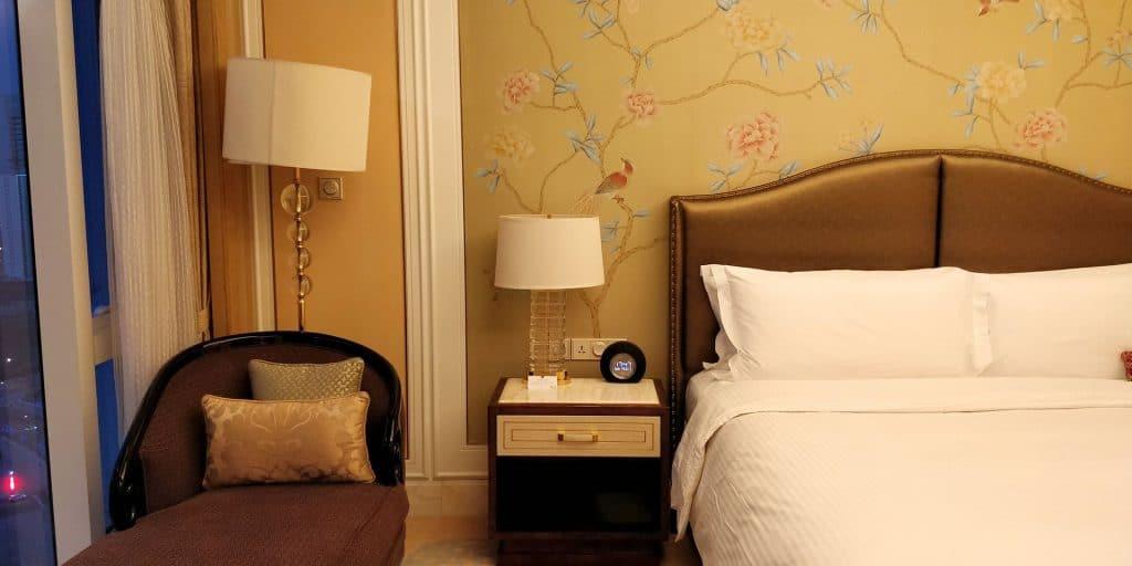 Conrad Dalian Suite Schlafzimmer 2