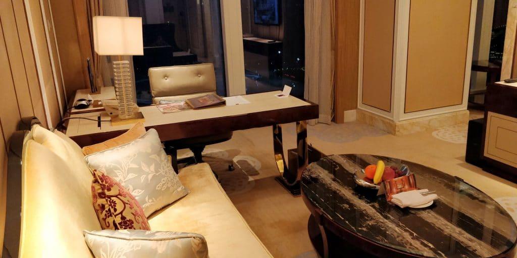 Conrad Dalian Suite Wohnzimmer 6
