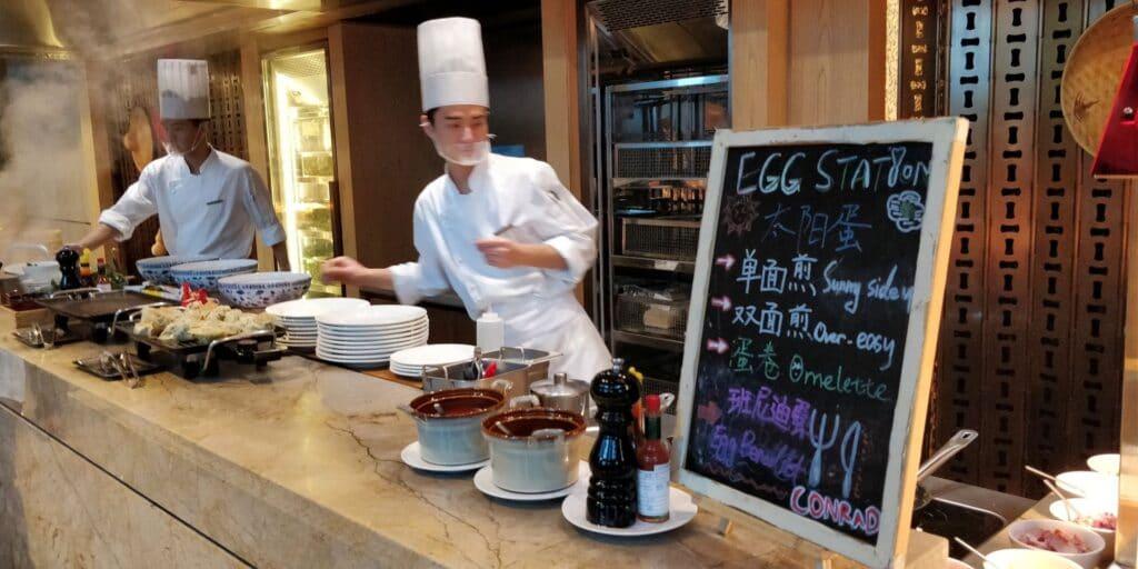 Conrad Guangzhou Frühstück 11