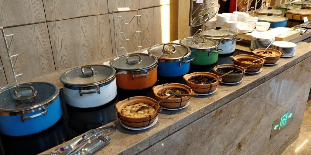 Conrad Guangzhou Frühstück 5