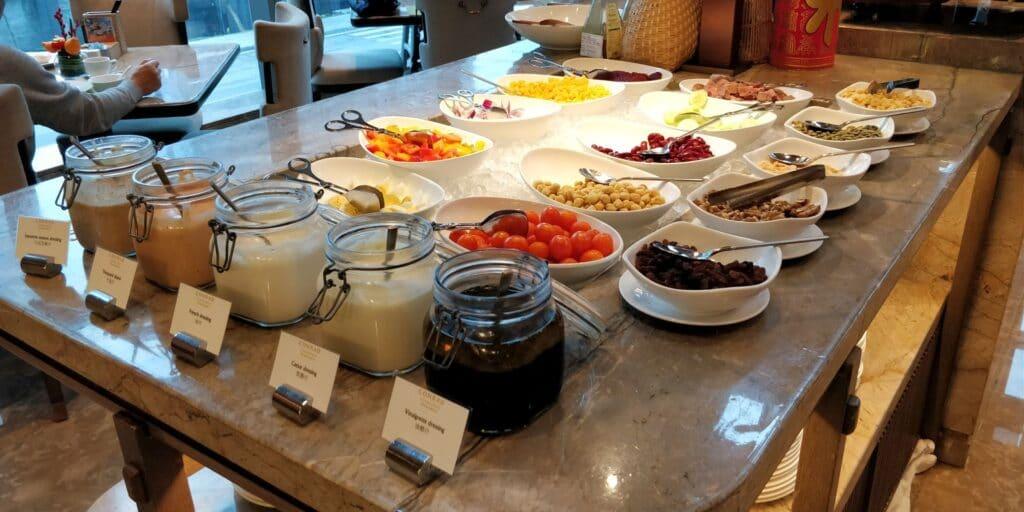 Conrad Guangzhou Frühstück 7