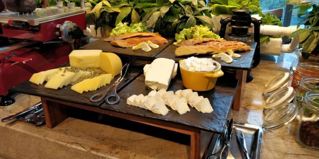 Conrad Guangzhou Frühstück 8
