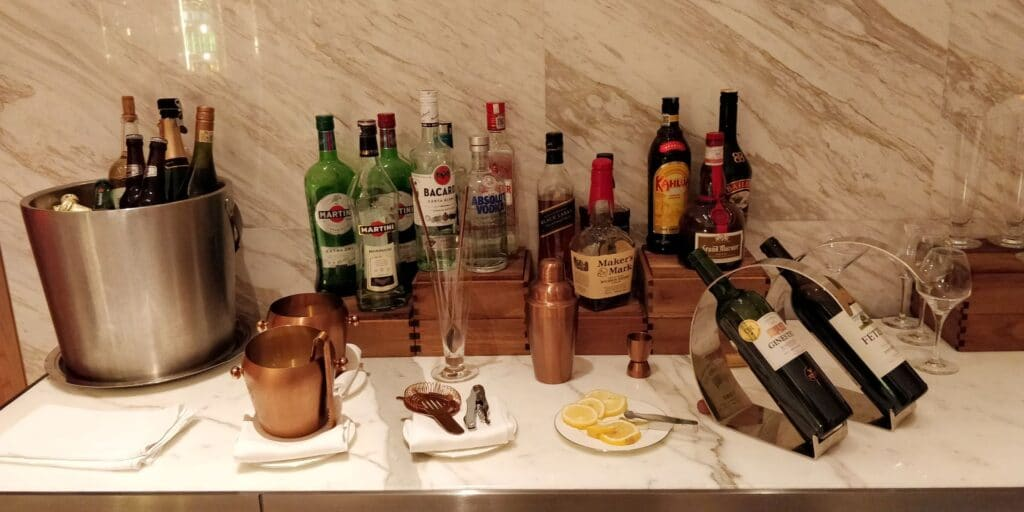 Conrad Guangzhou Lounge Abendessen 7