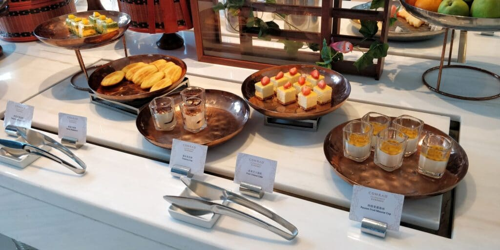Conrad Guangzhou Lounge Afternoon Tea 2