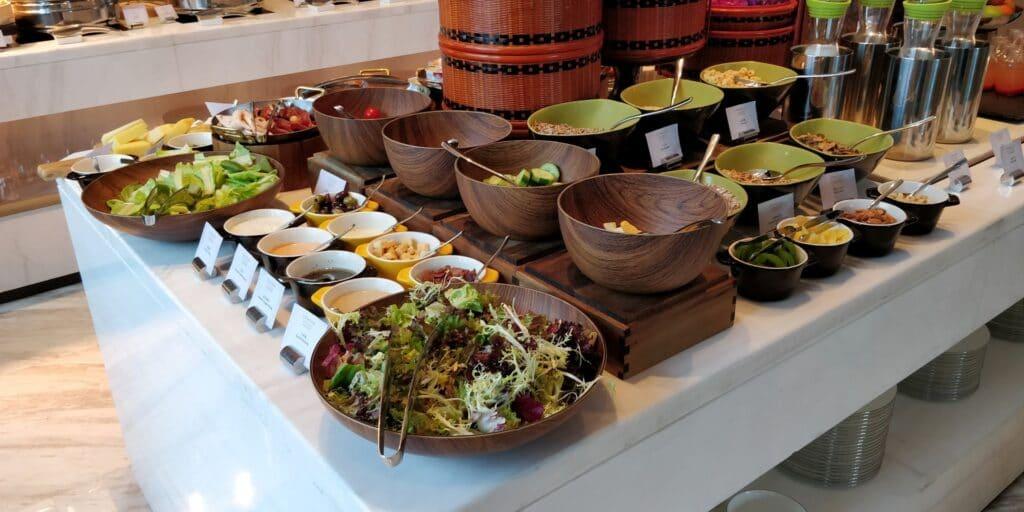 Conrad Guangzhou Lounge Frühstück 3