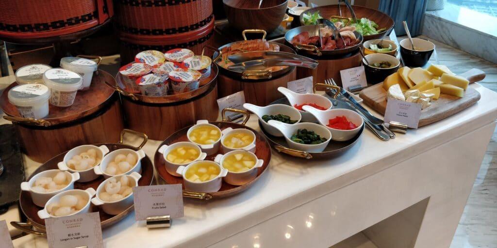 Conrad Guangzhou Lounge Frühstück 6