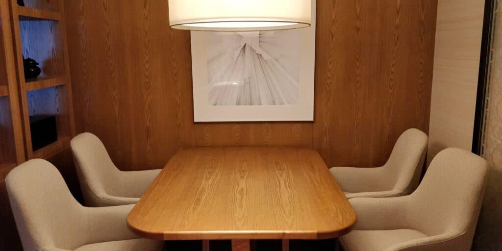 Conrad Guangzhou Suite Esszimmer