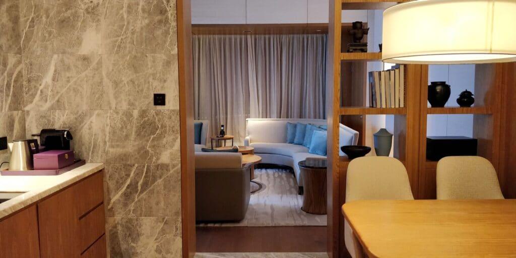 Conrad Guangzhou Suite Esszimmer 2