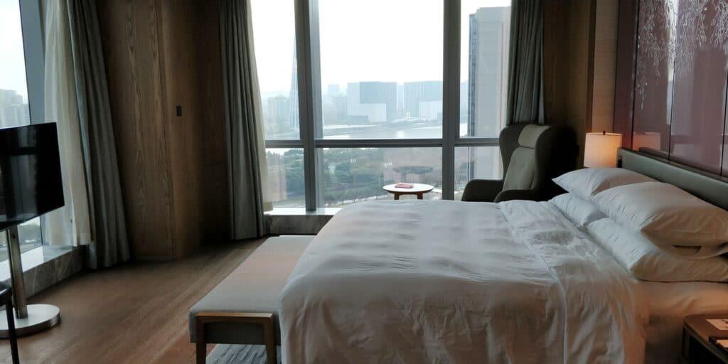 Conrad Guangzhou Suite Schlafzimmer 2