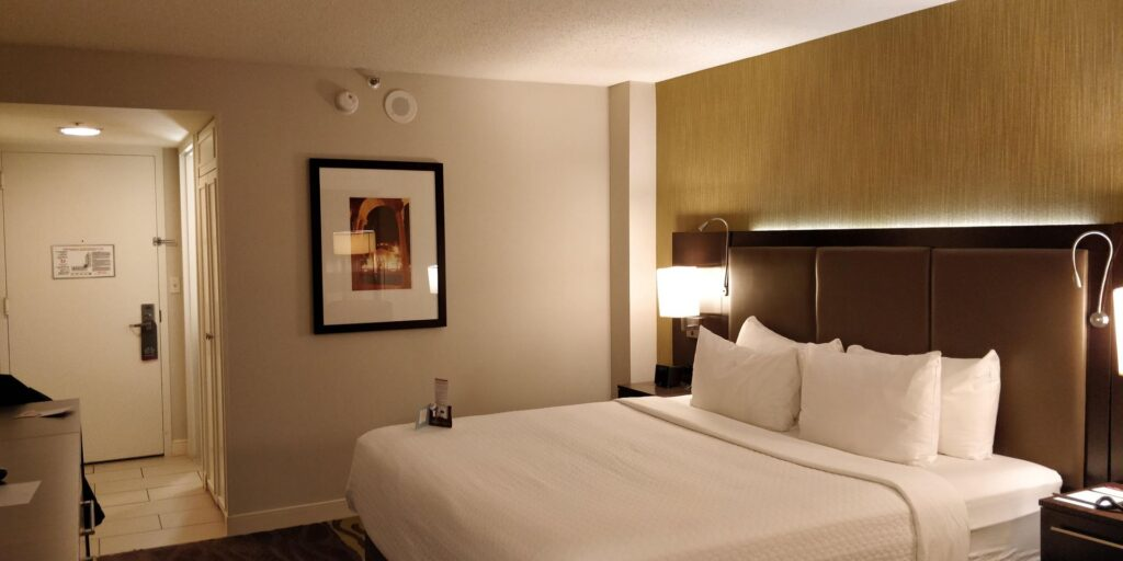 Crowne Plaza Los Angeles Airport Zimmer 12