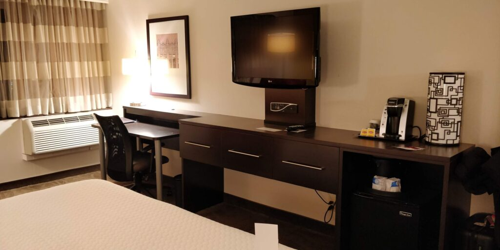 Crowne Plaza Los Angeles Airport Zimmer 9
