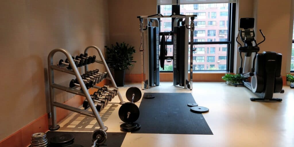 DoubleTree Shanghai Nanxiang Fitness 2