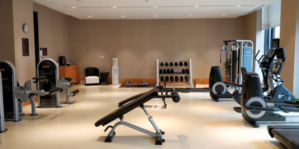 DoubleTree Shanghai Nanxiang Fitness 3