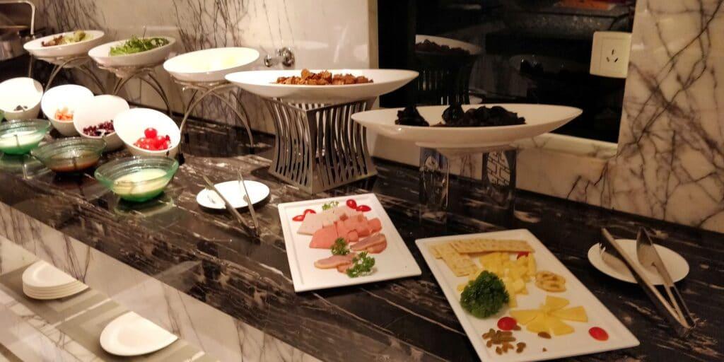 DoubleTree Shanghai Nanxiang Lounge Abendessen 3