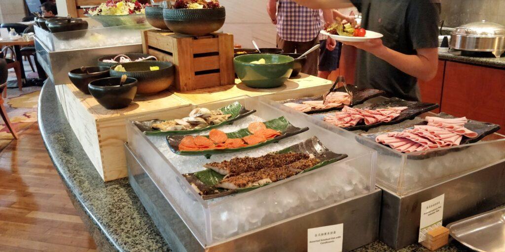 DoubleTree Shanghai Pudong Frühstück 2