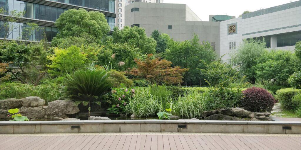 DoubleTree Shanghai Pudong Garten