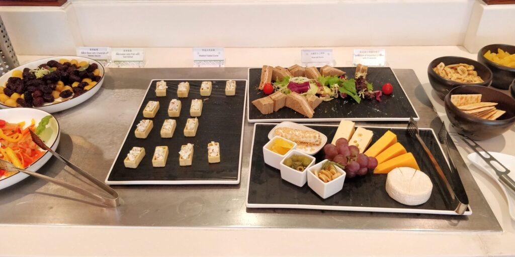 DoubleTree Shanghai Pudong Lounge Abendessen 4