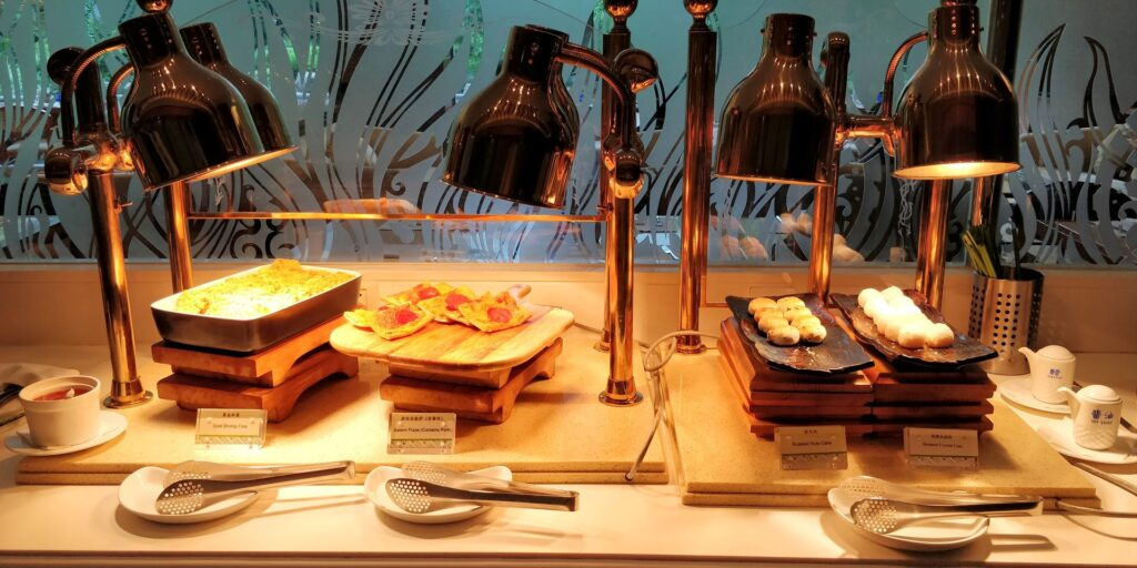 DoubleTree Shanghai Pudong Lounge Abendessen 6