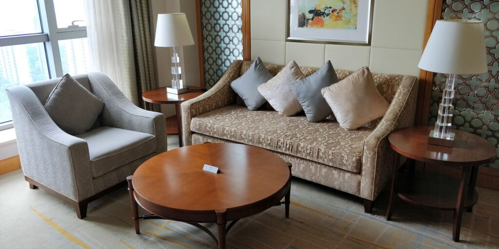 DoubleTree Shanghai Pudong Suite Wohnzimmer 3