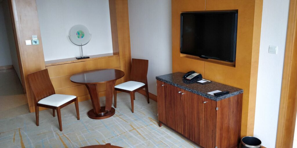 DoubleTree Shanghai Pudong Suite Wohnzimmer 4