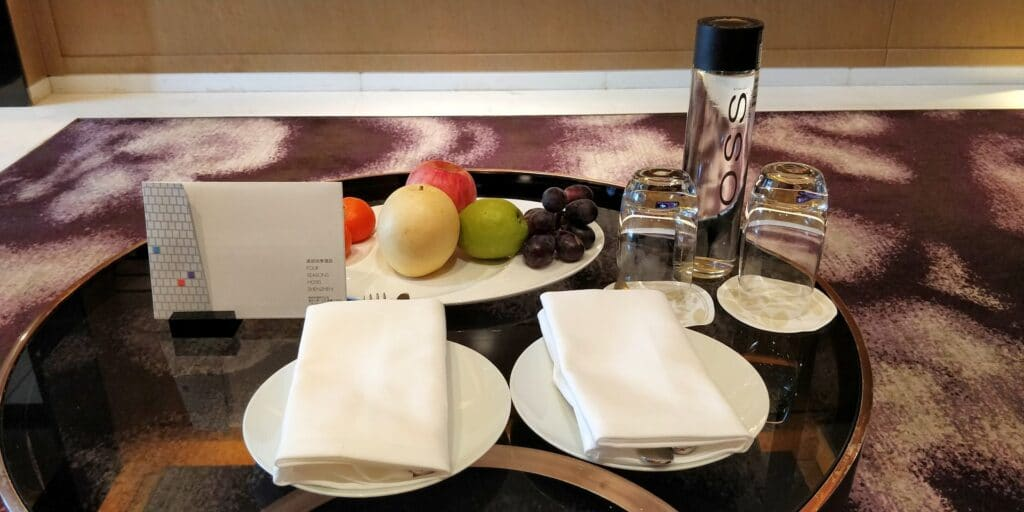 Four Seasons Shenzhen Welcome Gift