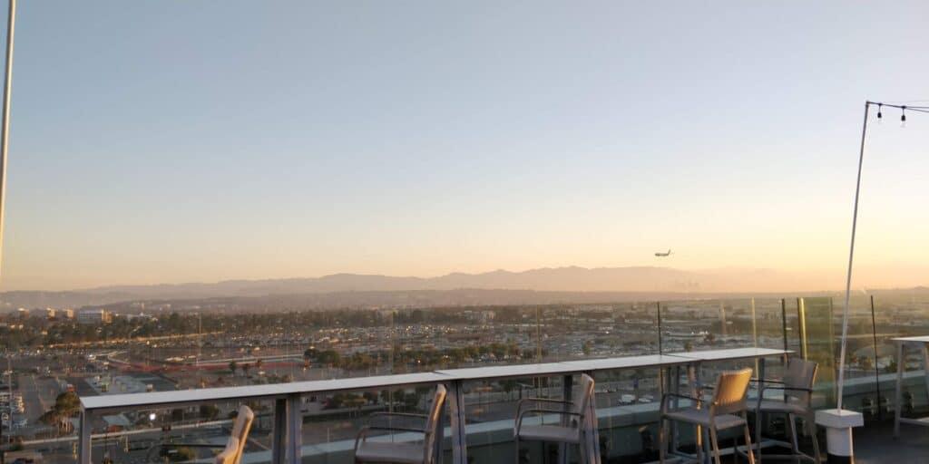 H Hotel Los Angeles Dachterrasse 2