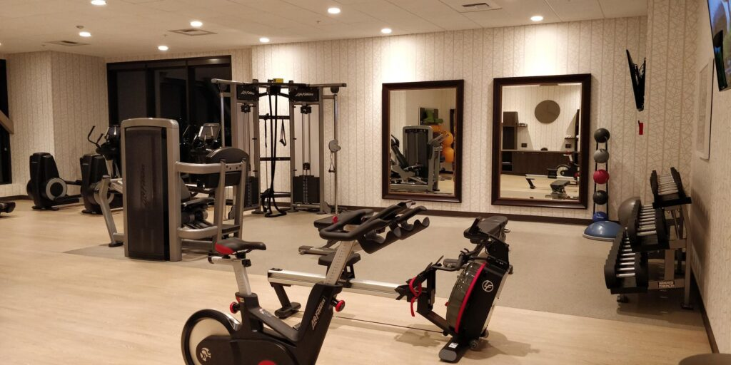 H Hotel Los Angeles Fitness 1
