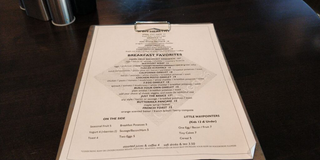 H Hotel Los Angeles Frühstück 1