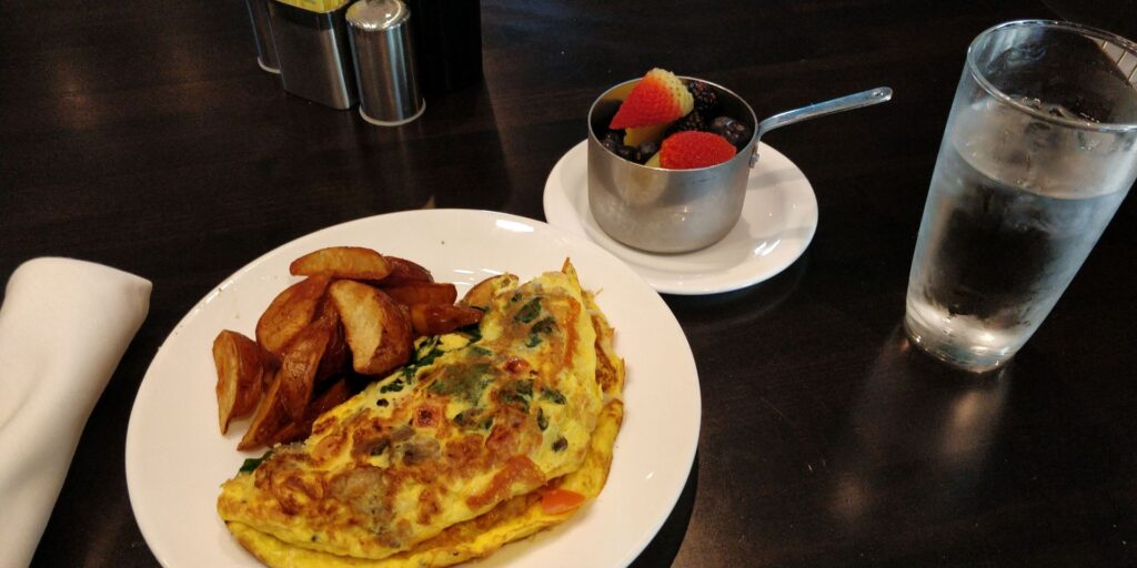 H Hotel Los Angeles Frühstück 2