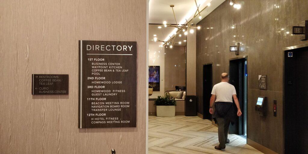 H Hotel Los Angeles Lobby 1