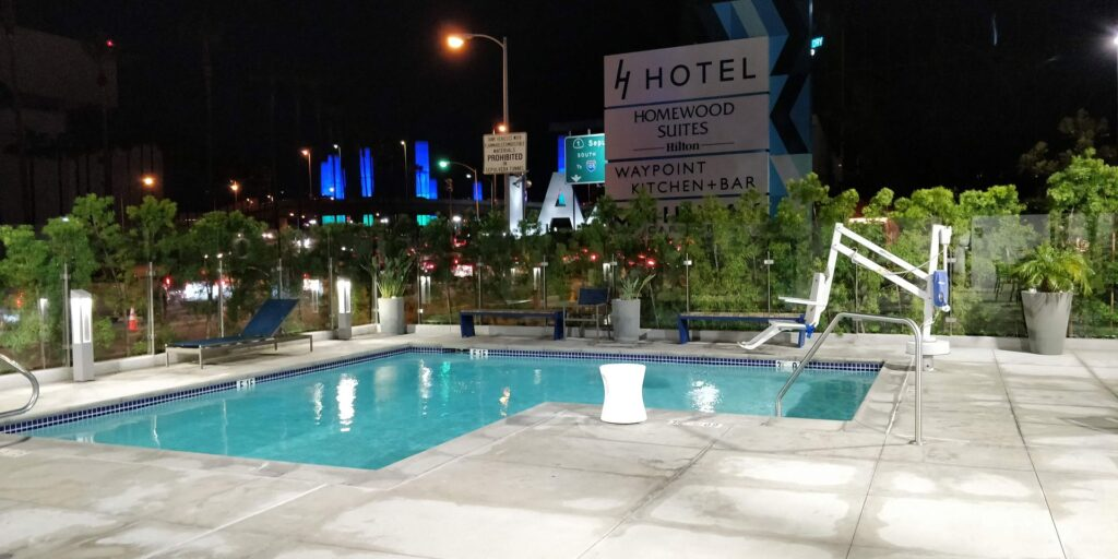 H Hotel Los Angeles Pool