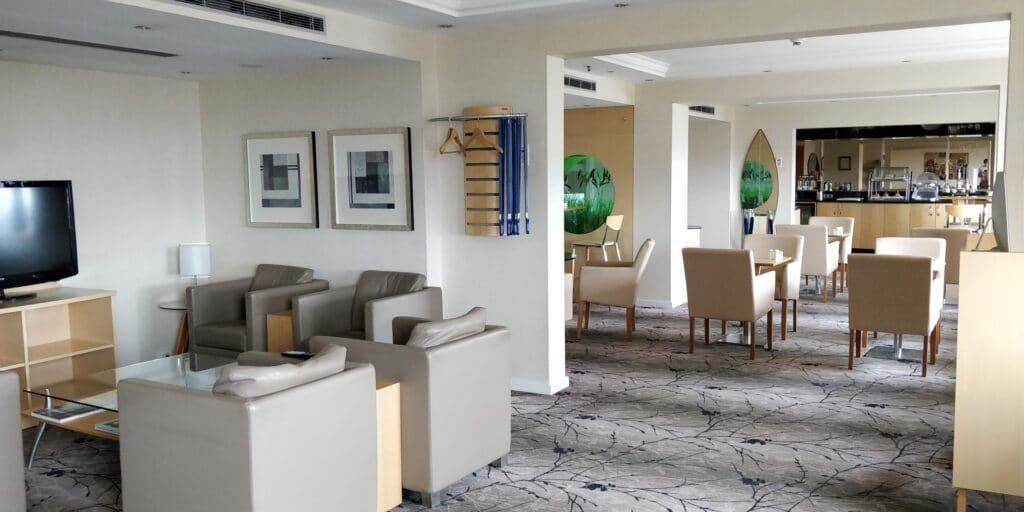 Hilton Düsseldorf Lounge