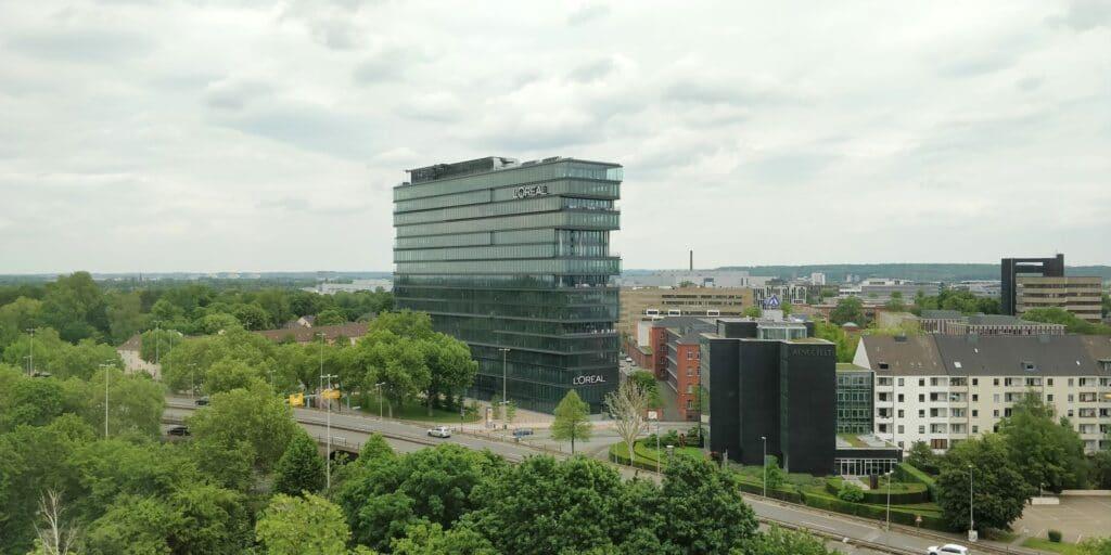Hilton Düsseldorf Zimmer Ausblick