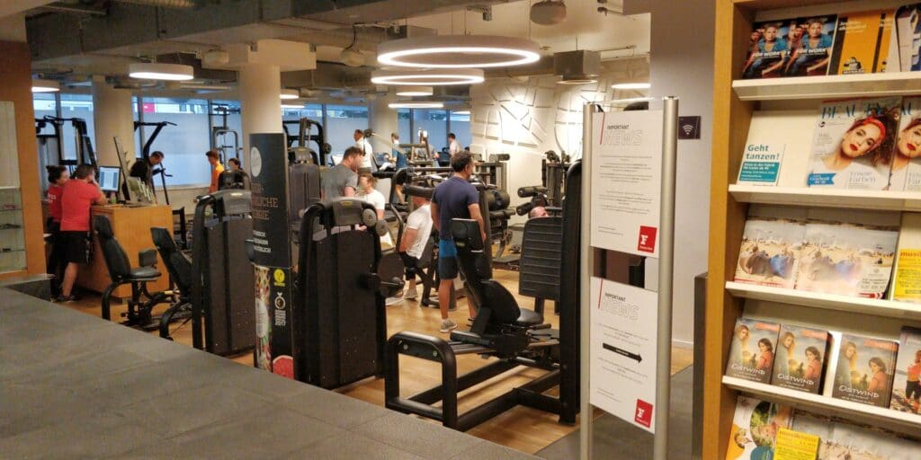 Hilton Frankfurt Fitness